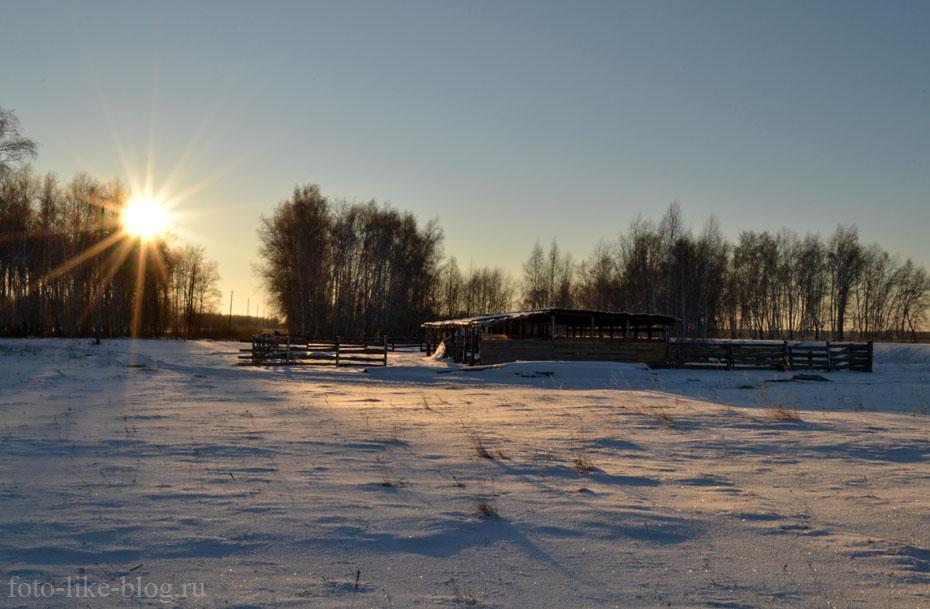 Фото солнца на закрытой диафрагме, Nikon d3100
