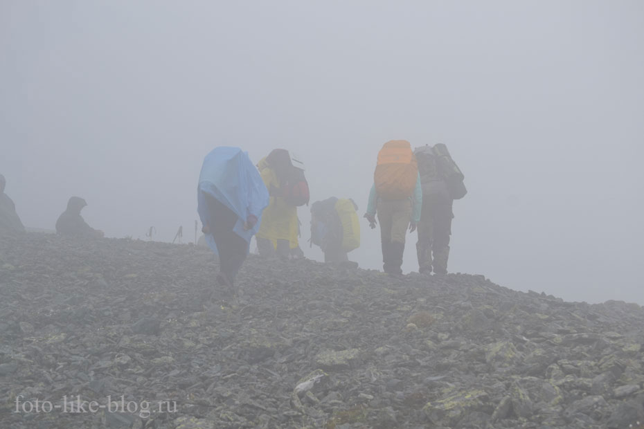Подъем на перевал Кара-Тюрек