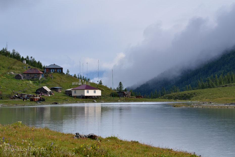 Метеостанция на озере Ак-Кем