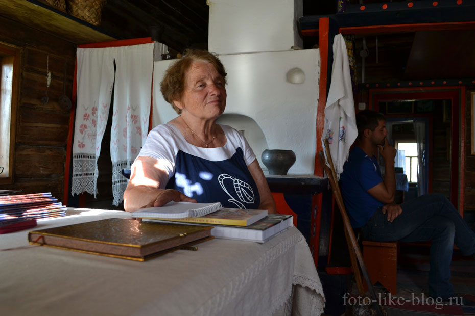 Раиса Павловна Кучуганова, музей старообрядцев в Верхнем Уймоне