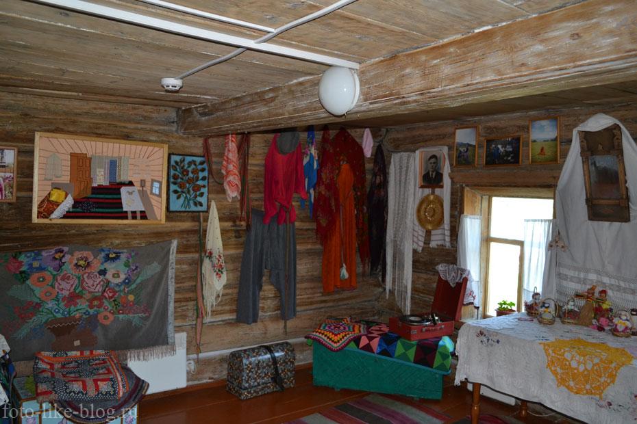 Внутреннее убранство музея старообрядчества
