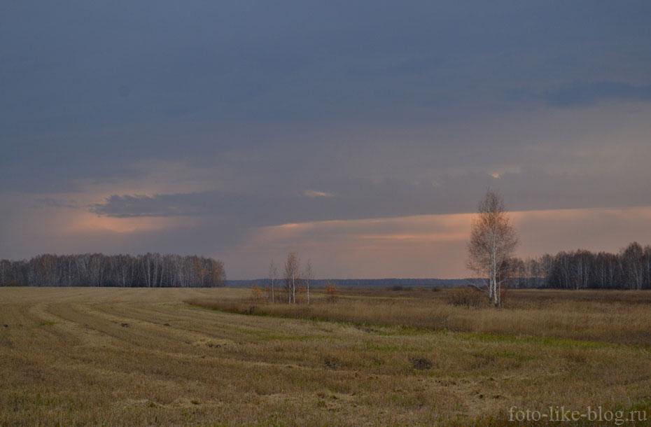 Пример фото пейзажа на закрытой диафрагме f/8