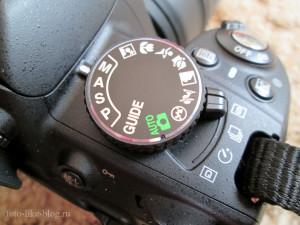 Ручной режим на Nikon d3100