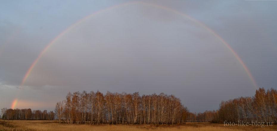 Пример панорамы на Nikon d3100 склеенной в фотошопе