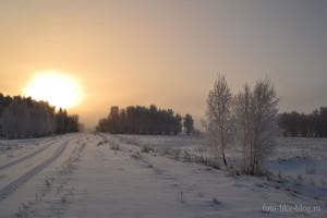 Зимний пейзаж - Nikon d3100