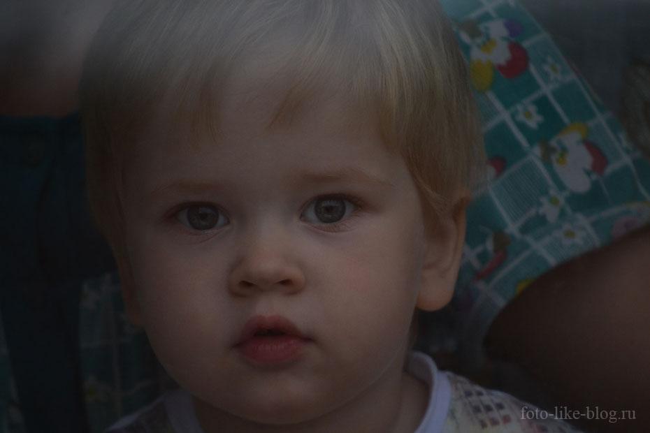 Портрет ребенка - пример фото на Nikon d3100
