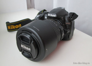 Nikon d3100 с телеобъективом