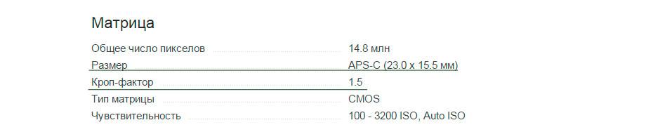 КРОП фактор - что это в фотоаппаратах? Nikon d3100
